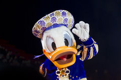 Donald Duck Close Up Stock Image