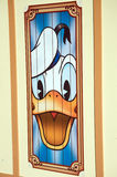 Donald Duck at Disneyland Royalty Free Stock Photo