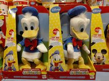 Of Donald Duck doll Royalty Free Stock Images