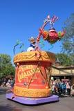 Donald Duck en el desfile de Disney en Disneyland fotos de archivo libres de regalías