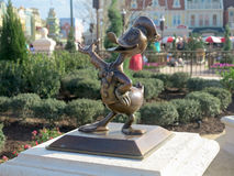 Donald Duck Statue Royalty Free Stock Image
