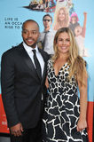 Donald Faison & Cacee Cobb Stock Photography