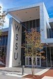 Donald Julian Reeves Student Activities Center en WSSU Imagen de archivo libre de regalías