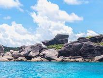 Donald kaczki zatoka przy Similan wyspami, Tajlandia Zdjęcia Royalty Free