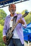 Donald Kinsey führt am Blau-Festival durch Lizenzfreies Stockbild