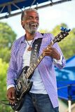 Donald Kinsey performs at Blues Festival Royalty Free Stock Image