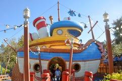 Donald's Boat at Disney World Orlando stock photos