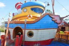 Donald's Boat at Disney World Orlando stock photo