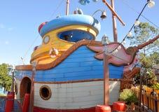 Donald's Boat at Disney World Orlando royalty free stock photo