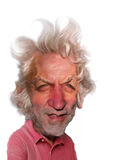 Donald Sutherland Caricature Royalty Free Stock Images