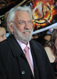 Donald Sutherland Royalty Free Stock Image