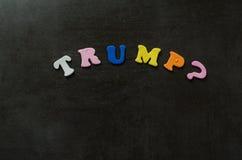 Donald Trump Arkivbild
