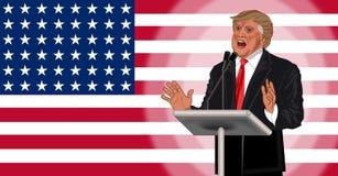 Donald Trump ilustração do vetor