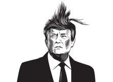 Donald Trump illustration libre de droits