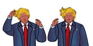 Donald Trump ilustração stock