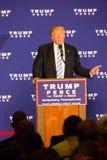 Donald Trump Campaigning em Gettysburg Foto de Stock