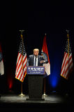 Donald Trump Campaigns i St Louis Arkivfoto