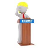 Donald Trump figure 3D man Royalty Free Stock Images