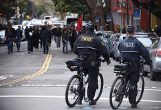 Donald Trump Free Speech Brawl In Berkeley California Stock Photo