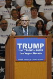 Donald Trump Holds Campaign Rally à Las Vegas, Nevada comportant Joe Arpaio comme haut-parleur Photo stock