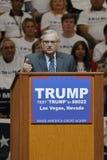 Donald Trump Holds Campaign Rally em Las Vegas, Nevada que caracteriza Joe Arpaio como o orador Foto de Stock