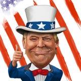 Donald Trump Illustration Photo libre de droits
