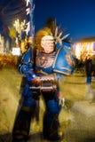 Donald Trump maskering på karnevalet av viareggioen arkivfoton