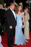 Donald Trump, Melania Trump. DONALD TRUMP & wife MELANIA at the 64th Annual Golden Globe Awards at the Beverly Hilton Hotel. January 15, 2007 Beverly Hills, CA Stock Image