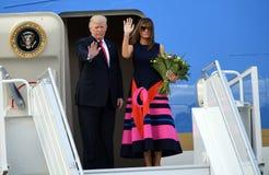 Donald Trump and Melania Trump Royalty Free Stock Photos