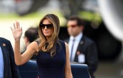 Donald Trump and Melania Trump royalty free stock photo