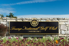 Donald Trump National Golf Club Royalty Free Stock Photo