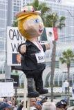 Donald Trump pinata in San Diego Stock Photos