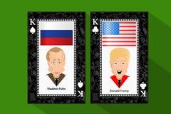 Donald Trump President Putin Vladimir Royalty Free Stock Images