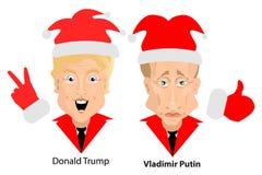 Donald Trump President Putin Vladimir Stock Photo