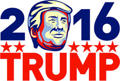 Donald Trump 2016 President Retro Stock Photos