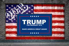 Donald Trump For President Royalty Free Stock Images