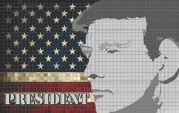Donald Trump President of the United States Stock Images