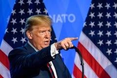 Donald Trump, President van de Verenigde Staten van Amerika royalty-vrije stock afbeeldingen