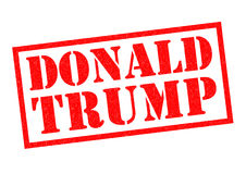 DONALD TRUMP Rubber Stamp Stock Photos