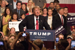 Donald Trump S First Presidential Campaign Rally In Phoenix Royalty Free Stock Photography