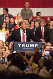 Donald Trump's first Presidential campaign rally in Phoenix. Donald Trump held his first campaign rally, since announcing his Republican candidacy for President royalty free stock photo