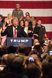 Donald Trump's first Presidential campaign rally in Phoenix. Donald Trump held his first campaign rally, since announcing his Republican candidacy for President royalty free stock photos