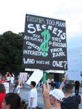 Donald Trump-` s Probleme Lizenzfreies Stockfoto