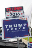 Donald Trump Sign Images libres de droits