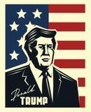Donald Trump-vector Stock Afbeeldingen