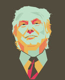 Donald Trump vector Stock Image