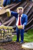 Donald Trump-Wand Stockbilder