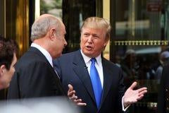 Donald Trump y el Dr. Phil Fotografía de archivo