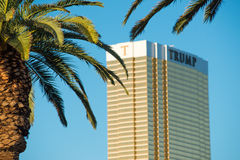 Donald Trump's hotel in Las Vegas Royalty Free Stock Image