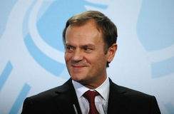 Donald Tusk Stock Photography
